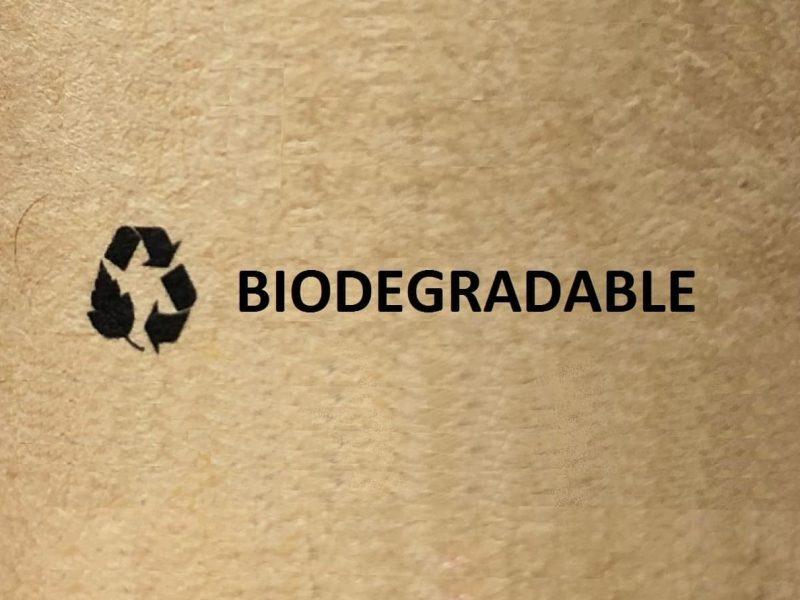 Cuál es el significado de biodegradable