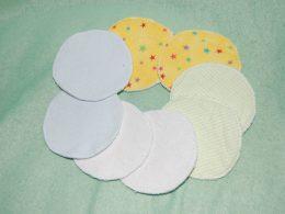 Discos de lactancia de tela